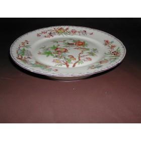 Assiette sur pieds porcelaine Sarreguemines décor n°252