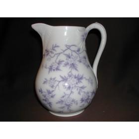 Pot à lait forme Fismes Porcelaine Sarreguemines décor épines