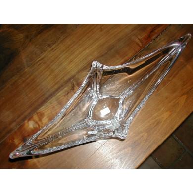 Coupe Héliade en cristal Daum 39 cm signé Daum (Croix de Lorraine) France
