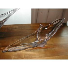 Coupe Héliade en cristal Daum 79 cm signé Daum (Croix de Lorraine) France